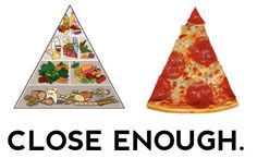 Pizza Pramid Close Enough