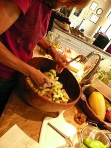 Cuke Salad 7-09
